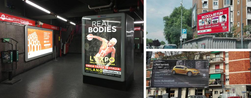 Spada Media Group realizza pubblicità su autobus a Milano