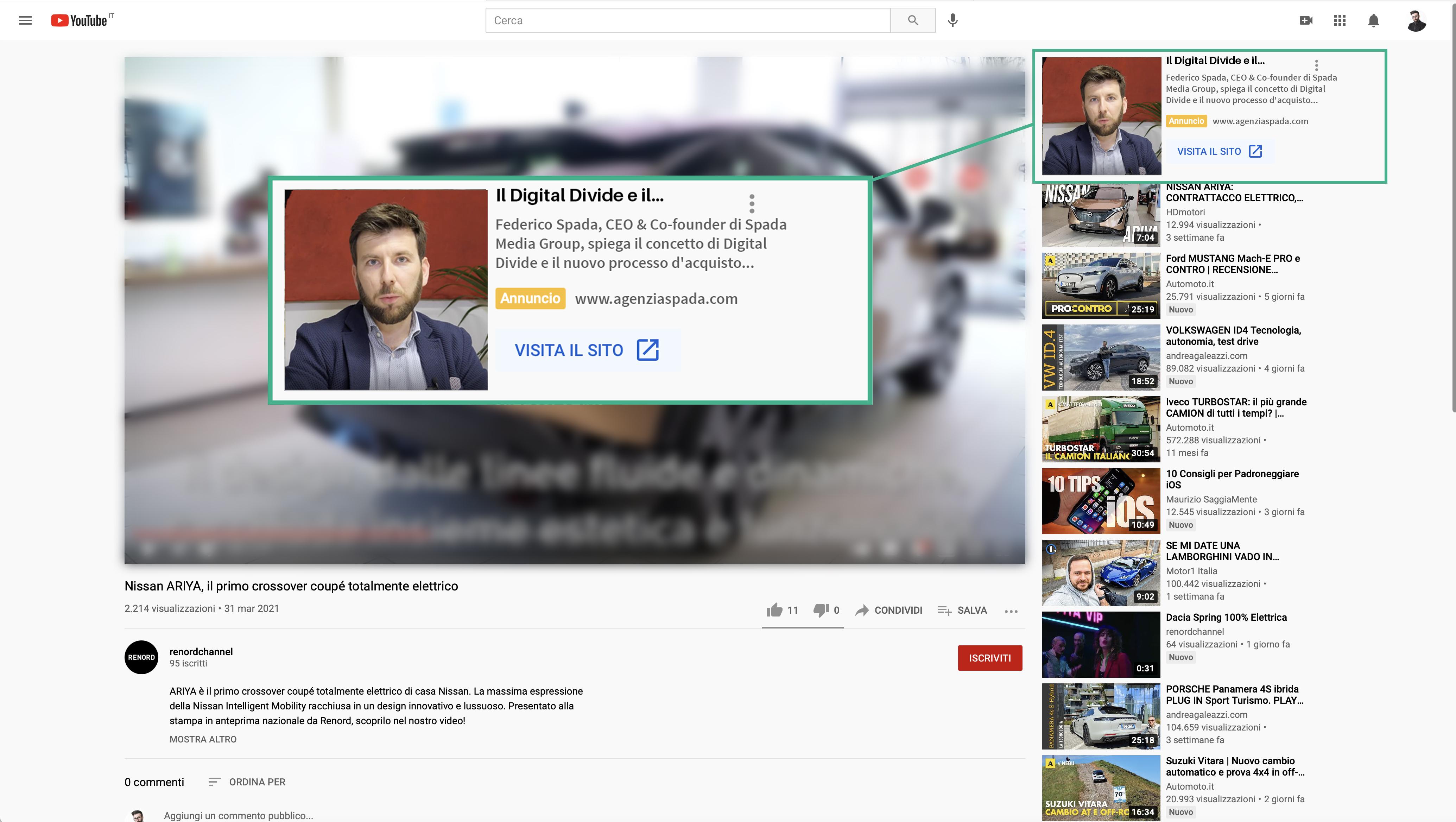 Spada Media Group: Campagne Video Google Ads