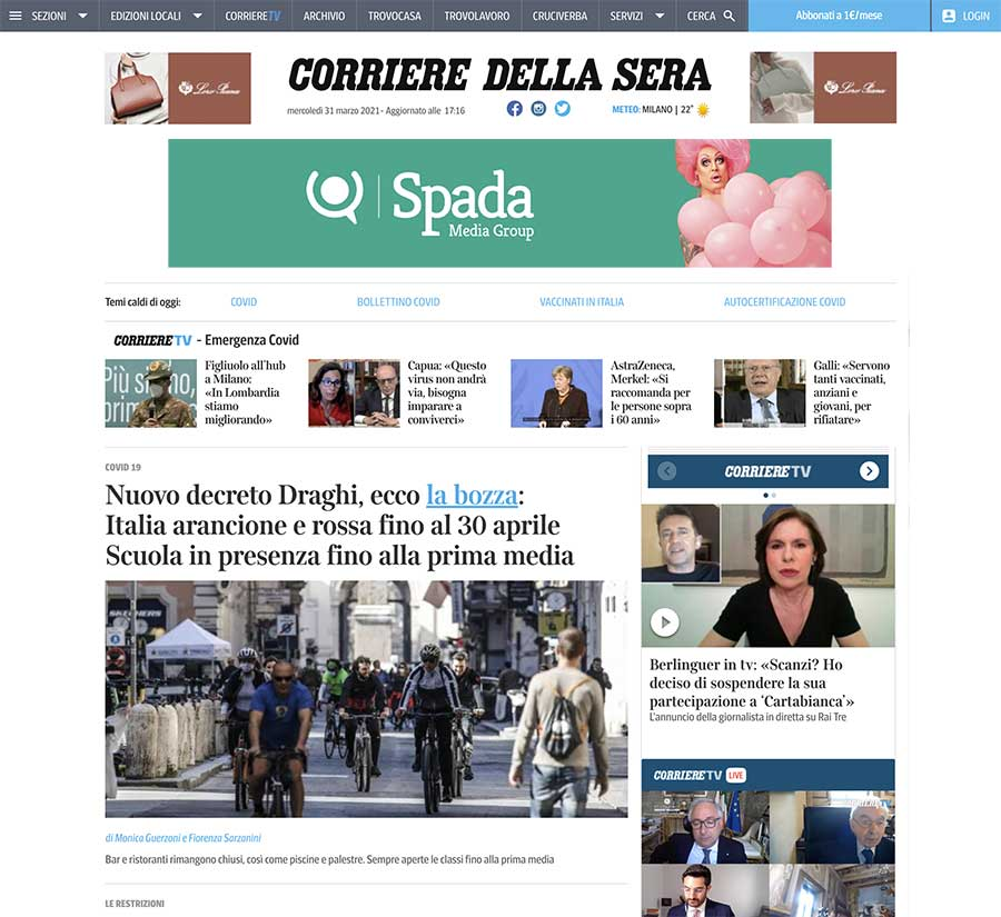 Spada Media Group: Campagne Display Google Ads