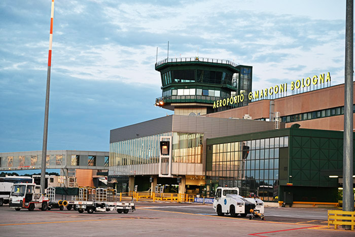 Pubblicità Aeroporto Bologna